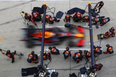 Absurd wereldrecord Red Bull: vier nieuwe banden in 1,88 seconden
