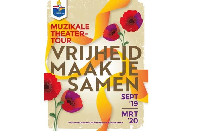 Muzikale voorstelling 'Vrijheid maak je samen' toert langs Limburgse theaters