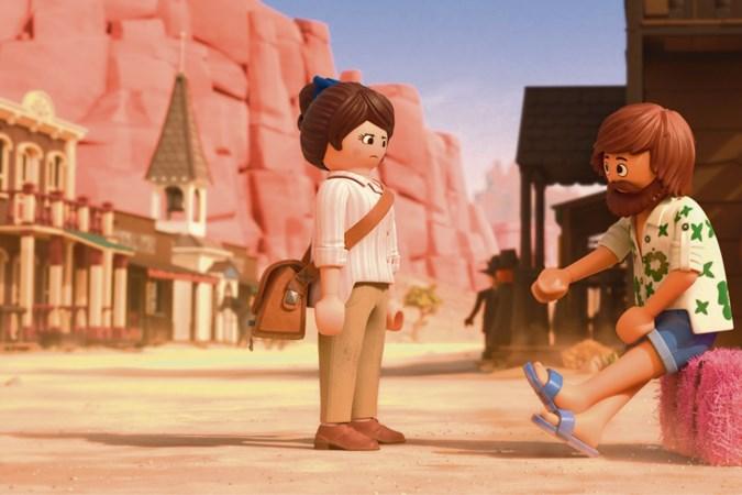 'Overvloedige en rommelige kijk in Playmobilwereld'