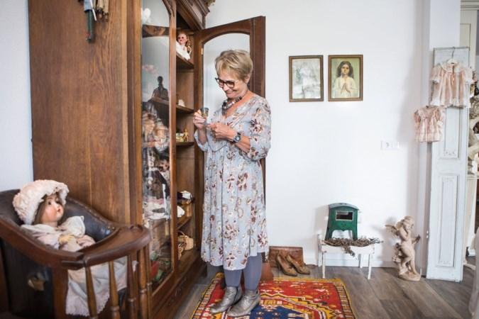 Brocante maakt blij, ook in een modern appartement