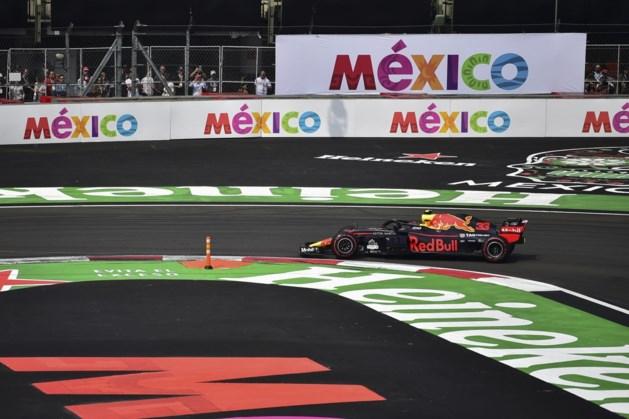 Formule 1 blijft Mexico trouw