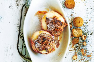 Goddelijke perziken met een deukje