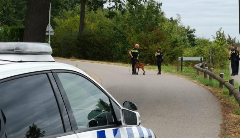 Politie zet helikopter en speurhonden in bij zoektocht naar overvaller