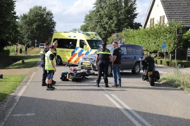Motorrijdster gewond na ongeval in Ell