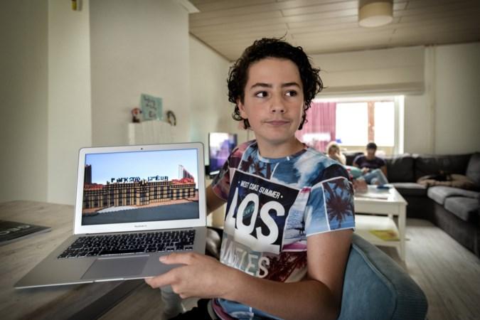 Yoran (13) uit Landgraaf bouwt heel Nederland na in Minecraft