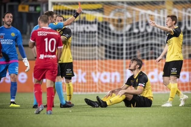 Roda-verdediger Werker één duel geschorst na rode kaart