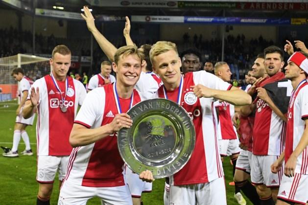 De Jong: Donny naar Real? Laat hem maar bij Ajax blijven