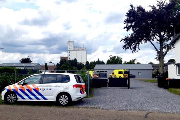 Man valt van ladder in Beringe en raakt gewond
