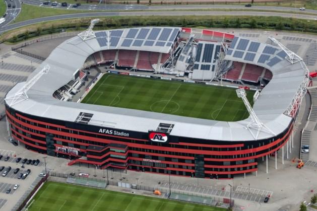 Promotiefilmpje installateur: 'Dak AZ-stadion niet berekend op zonnepanelen'