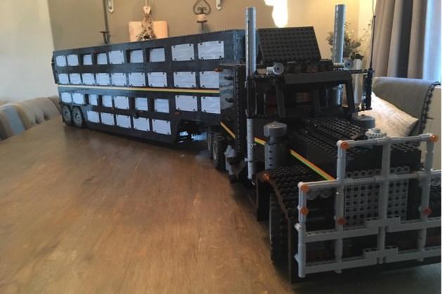 Braderie en tweedaagse Legoshow in centrum Belfeld