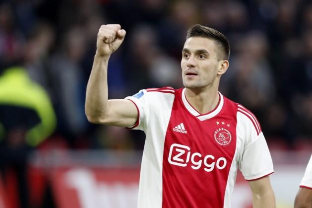 Ajax met Tadic in de spits tegen PAOK