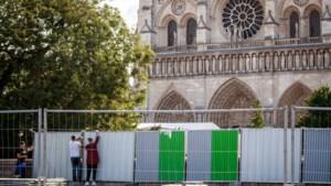 Notre-Dame staat nog steeds op instorten