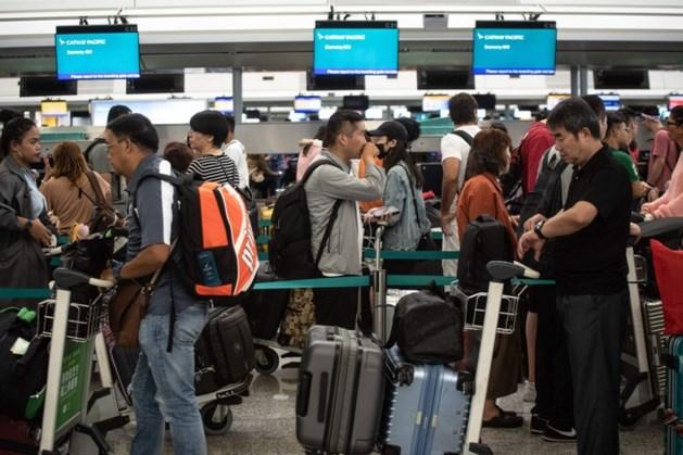 Hongkong verbiedt verdere demonstraties op het vliegveld