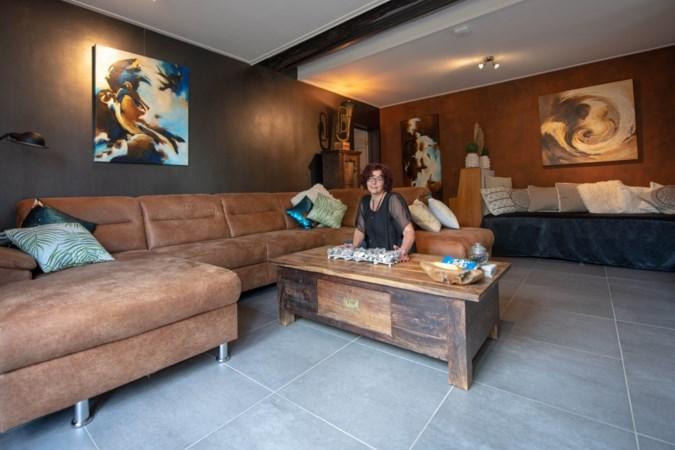 Gastvrouw van To Re-Create in Schinveld is tevens kunstenares