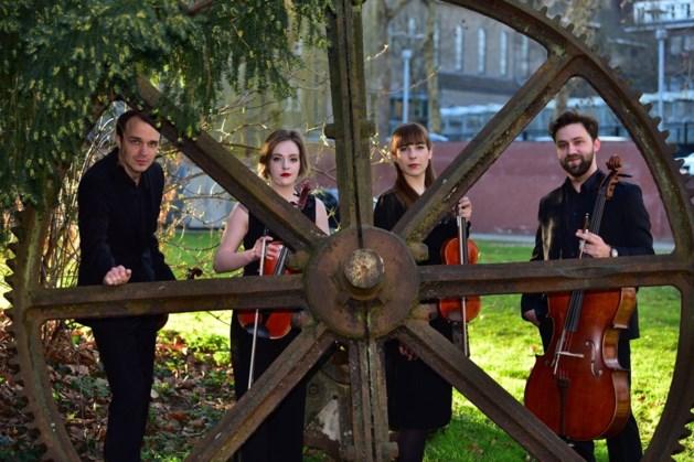 Maastrichts strijkkwartet op herhaling in Franz Pfanner Huis