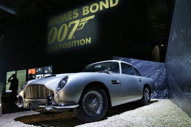 Aston Martin van James Bond geveild voor 6 miljoen dollar
