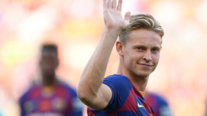 Frenkie de Jong direct in de basis bij Barcelona