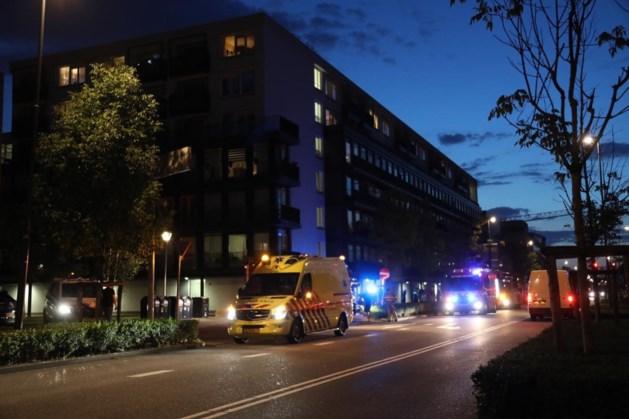 Hulpdiensten rukken uit voor brand in seniorencomplex Sittard