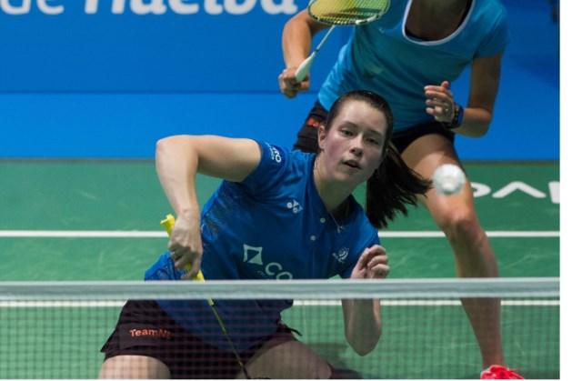 Badmintonster Seinen neemt eenvoudig eerste WK-horde