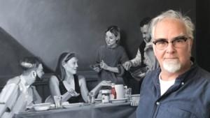 Dirk Bal met 'De Frietgangers' aan de slag op Kunstplein OLV Maastricht