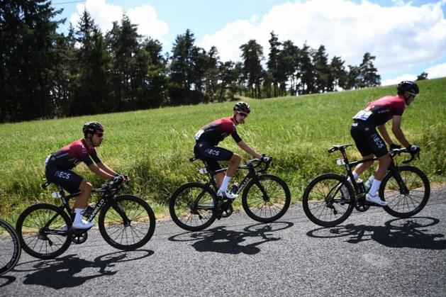 Poels een van de kopmannen van Ineos in Vuelta