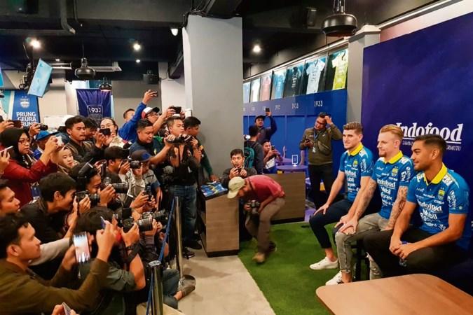 Maastrichtse voetballer Nick Kuipers in Indonesië: 'Iedereen kent me al'