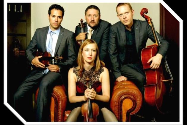 Matangi Kwartet treedt op in Openluchttheater Valkenburg