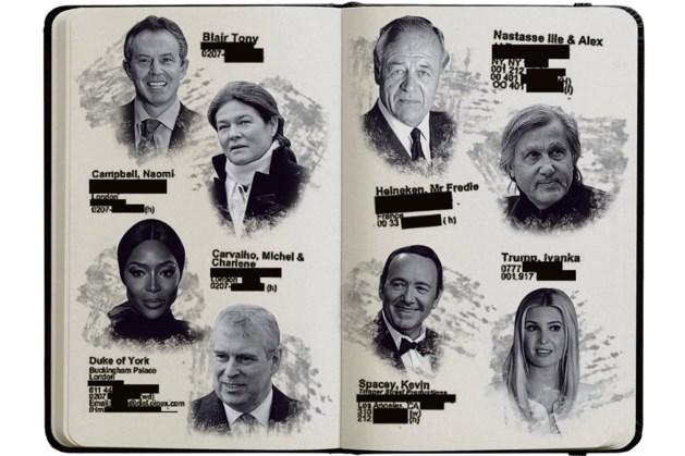 Ook Heinekens hadden een plekje in het boekje van Jeffrey Epstein