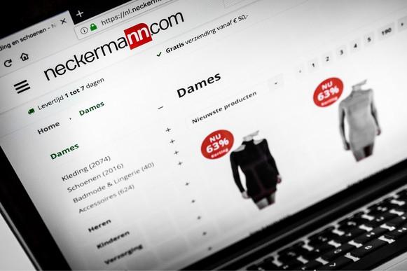 Klachtenregen over webshop Neckermann: 'Schandalig wat daar