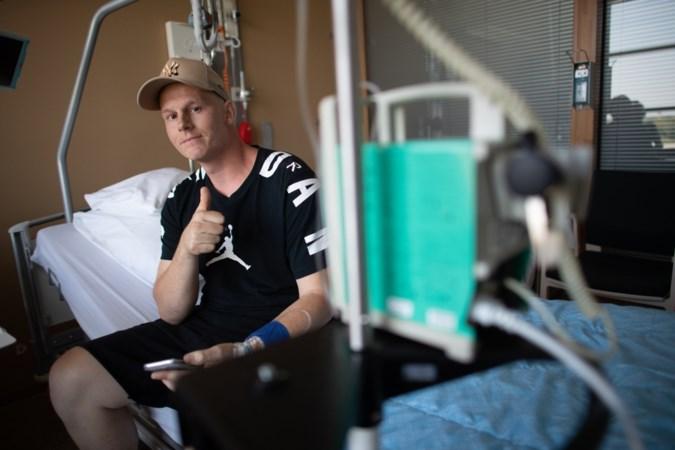 Door kanker getroffen Rapper Sjors is nog lang niet uitgerapt