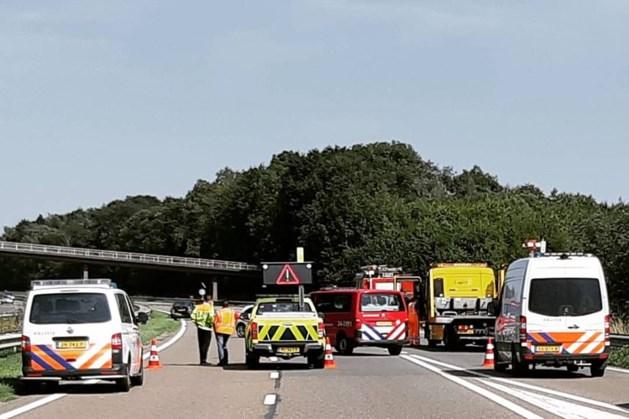 Drie ongelukken op A79 bij Valkenburg, één lichtgewonde