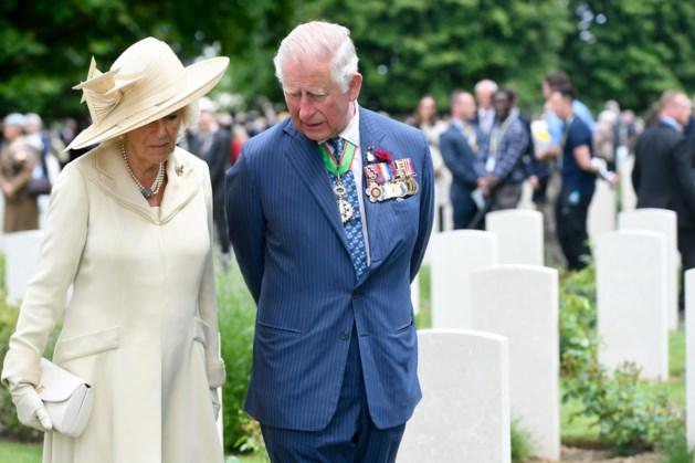 Prins Charles bij Airborne-herdenking