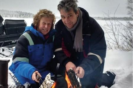 Paula en Frans verruilen Maasbracht voor Lapland en leven nu in een sprookje