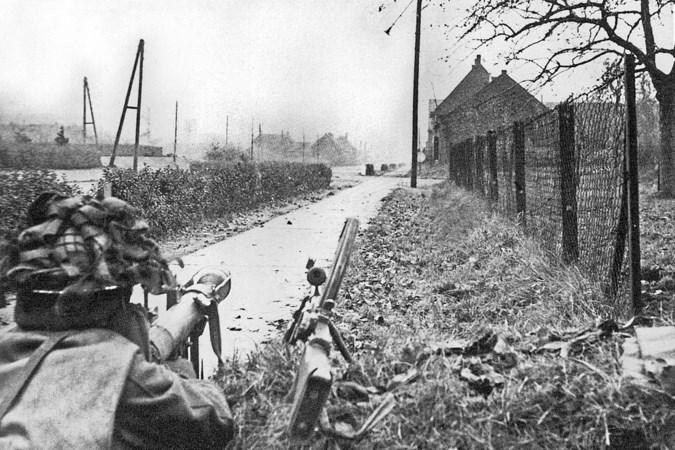 Herdenkingsboom in Landgraaf op plek waar Amerikanen in oorlog kampement hadden