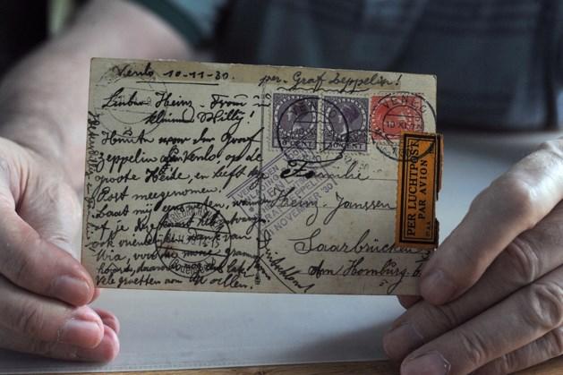 Zeldzame kaarten uit Zeppelin en Uiver: 325 euro
