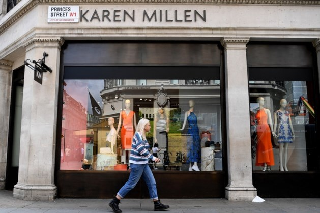 Modehuis Karen Millen bankroet: stekker ook uit Nederlandse tak