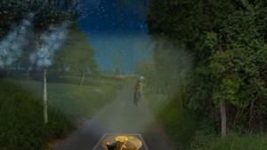 Beekdaelen laat oplichtende afbeeldingen van heiligen verwerken in deel van fietsroute