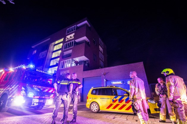 Melding van brand in appartement Roermond loos alarm