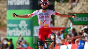 Herrada wint bergrit in Vuelta, Teuns pakt leiderstrui