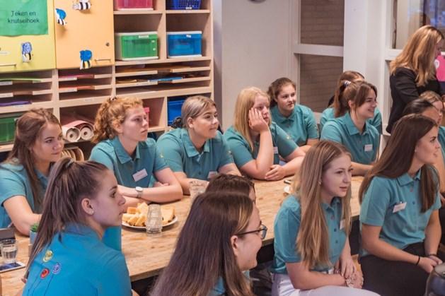 Leerlingen Gilde aan de slag bij kinderopvang in Weert