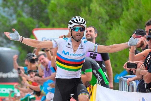 Valverde wint sprint van stervende zwanen, López herovert leiderstrui