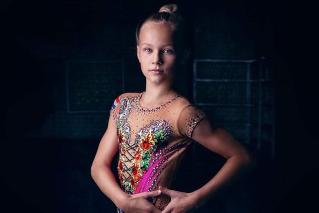Mila wil het allerliefst wereldkampioen acrogym worden