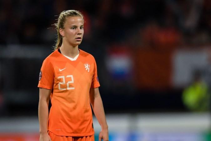 Oranje-debutant Lynn Wilms krijgt amper adempauze