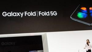 Opvouwbare Samsung-smartphone wordt vooralsnog niet gelanceerd in Nederland