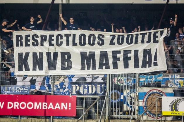 De Graafschap beboet voor spandoek 'KNVB-maffia' in Venlo
