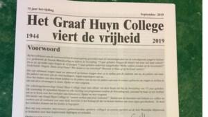 Graaf Huyn College Geleen heeft eigen bevrijdingskrant