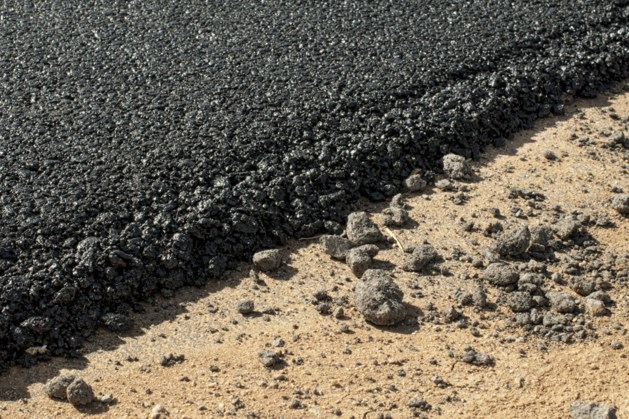 Onderhoudswerkzaamheden aan wegen in Simpelveld