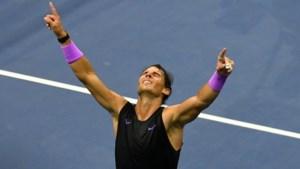 Nadal de taaiste in waanzinnige US Open-finale