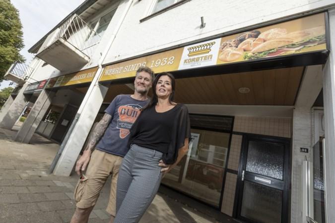 Mattie Korsten van failliete bakkerij opent broodjeszaak 't Kôrsje