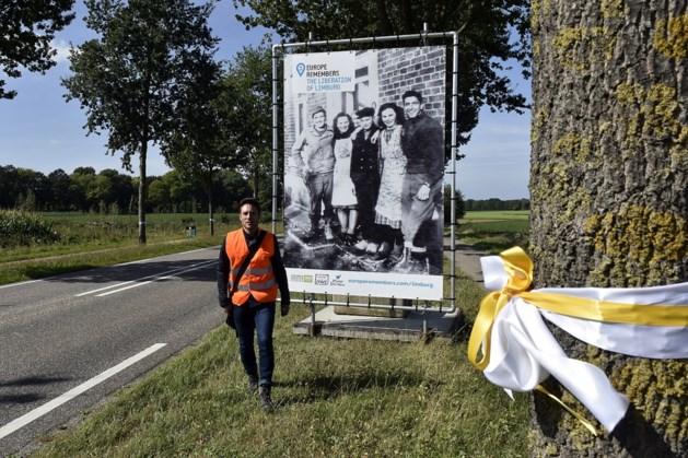 Provinciale weg bij Margraten getransformeerd tot tijdelijke herdenkingsweg